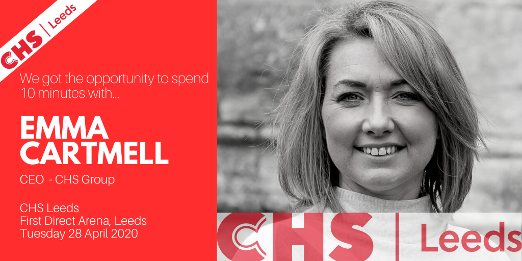 10 Minutes with Emma Cartmell of CHS Leeds