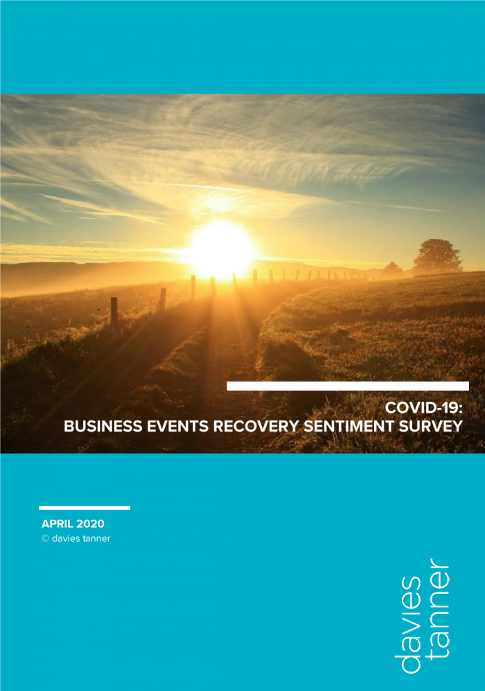 Latest Survey Reveals UK Events Industry Eyes September 2020 as Road to Recovery