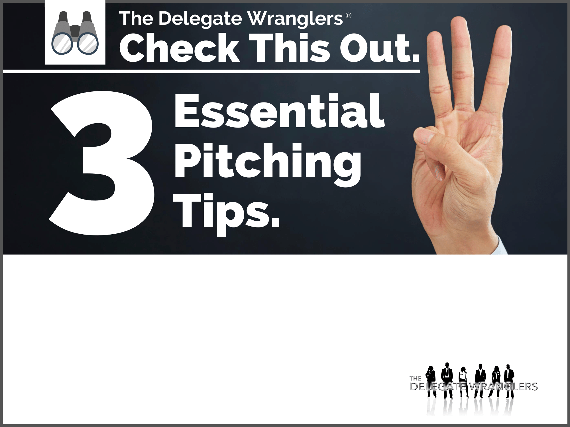 3 Essential Pitching Tips