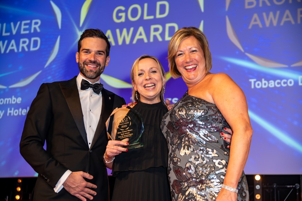 Alton Towers delighted at winning Gold for 'Best UK Unusual Venue' at the recent M&IT Awards