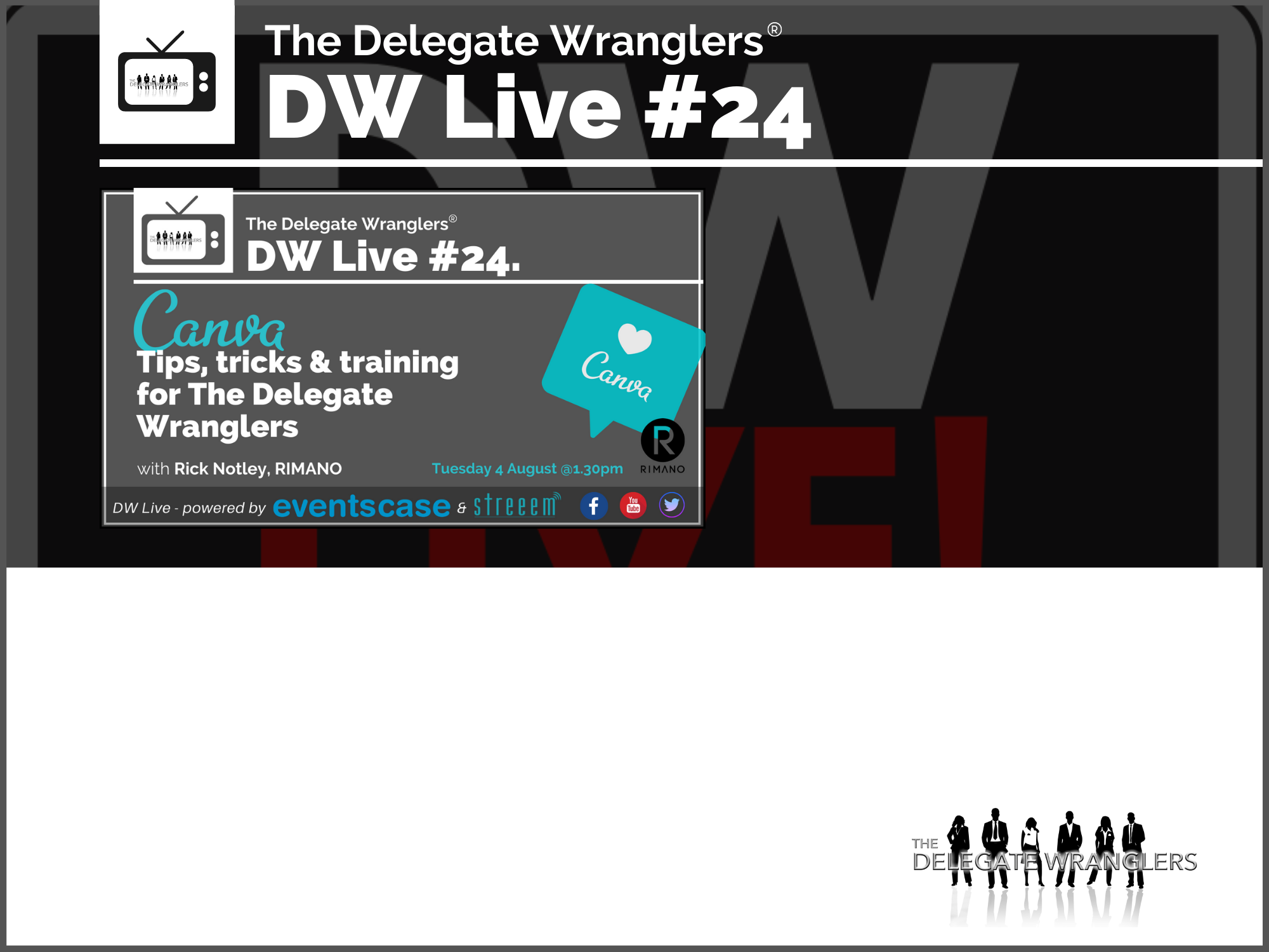 DW Live #24 - Canva - Tips, Tricks & Training
