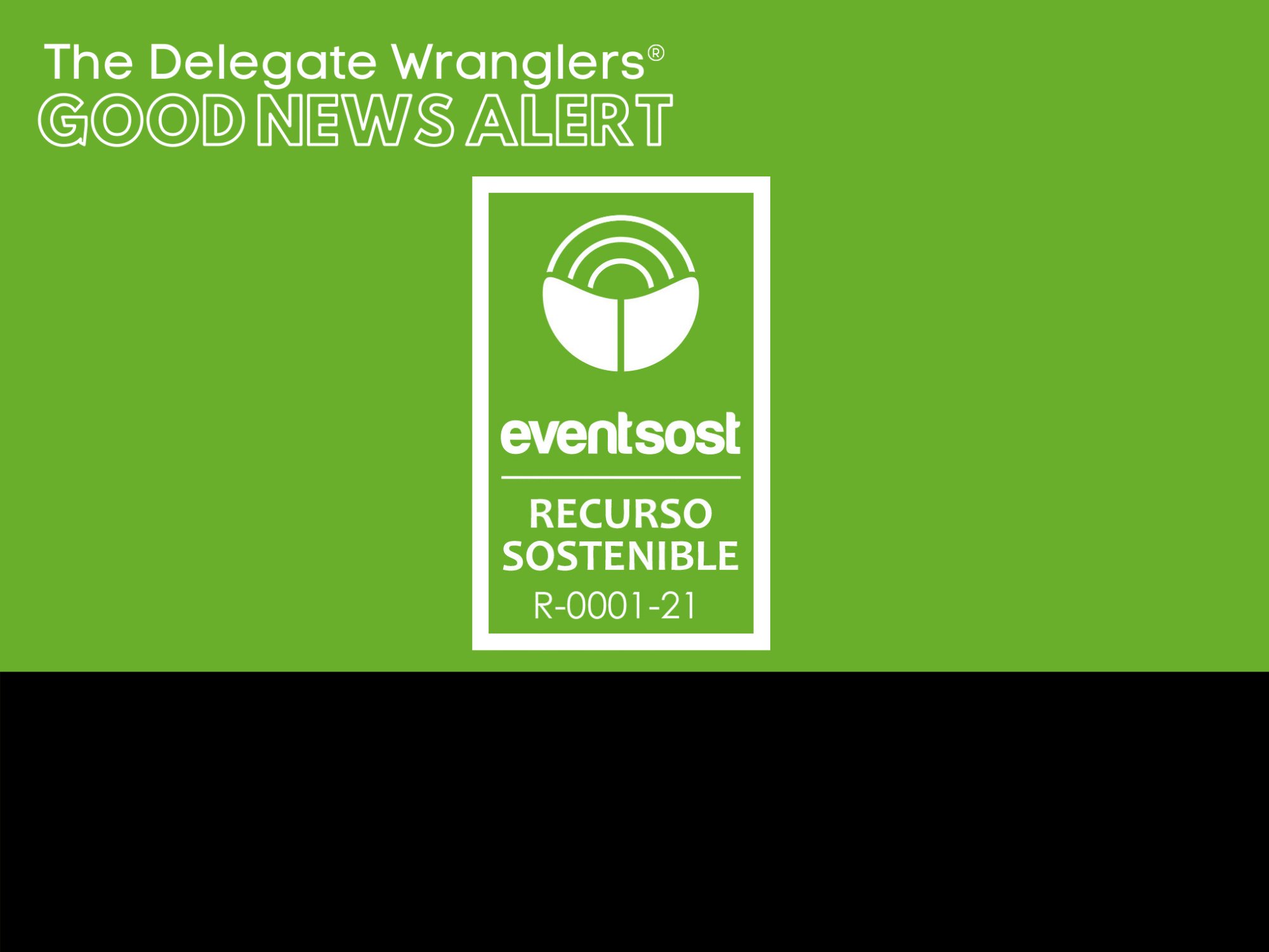 EventsCase announces its successful certification as a sustainable resource for events