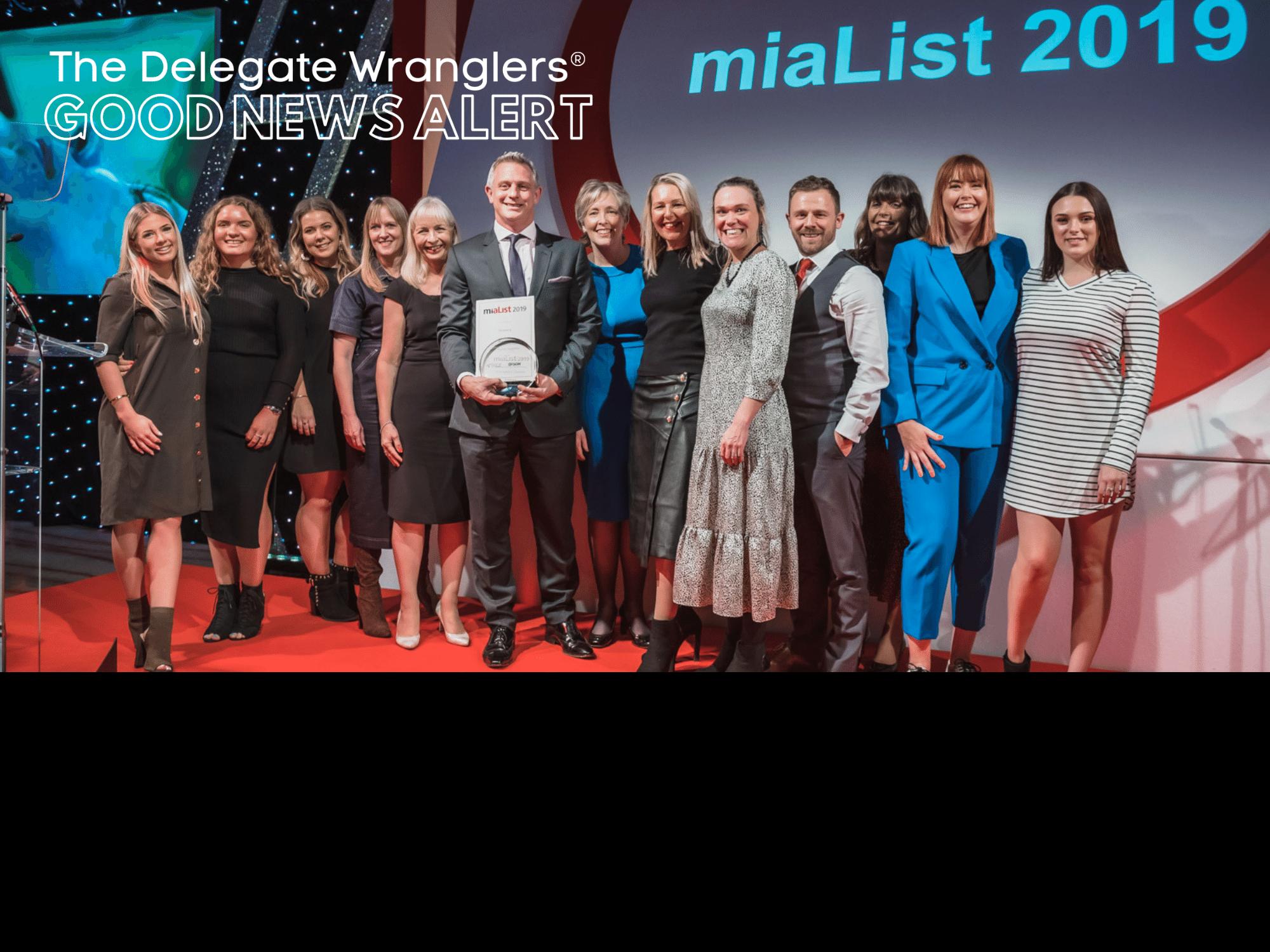 Meetings Industry Association reveals miaList 2020 team shortlist