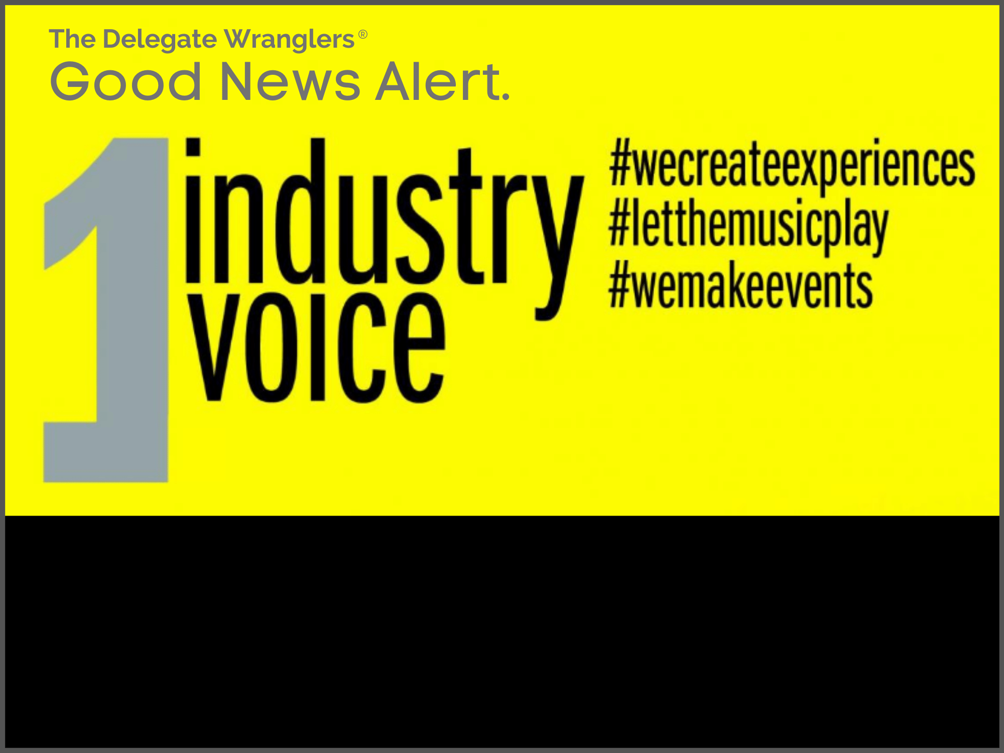 UK events industry campaigns combine forces to deliver One Industry One Voice