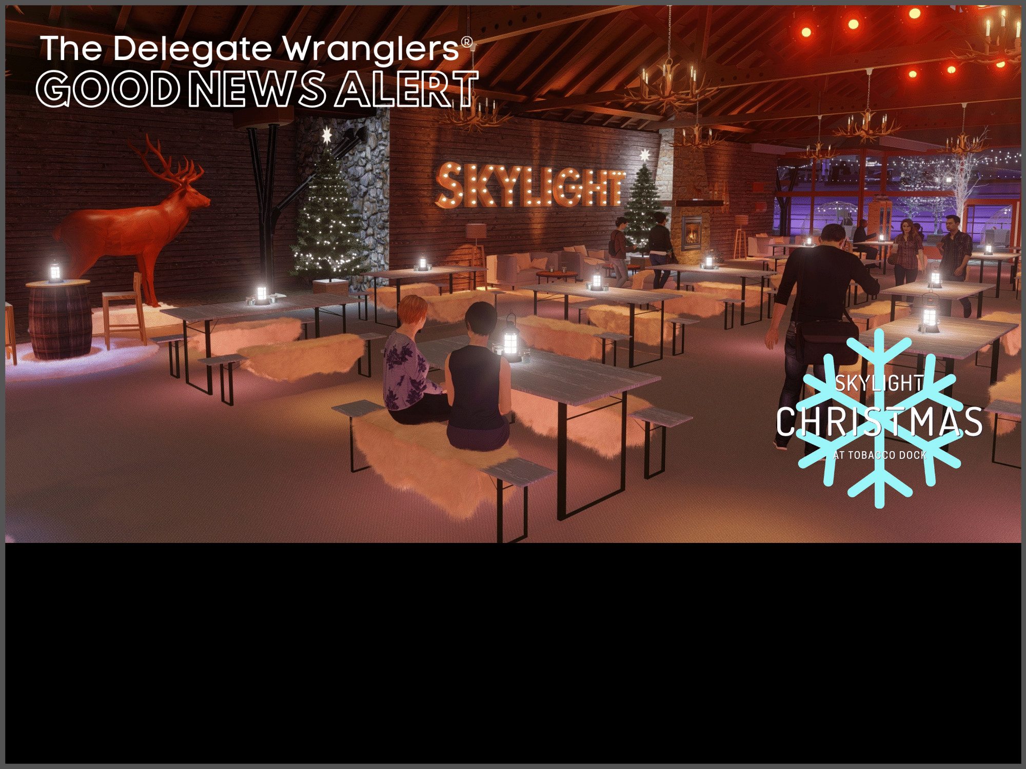 Skylight Christmas At Tobacco Dock London