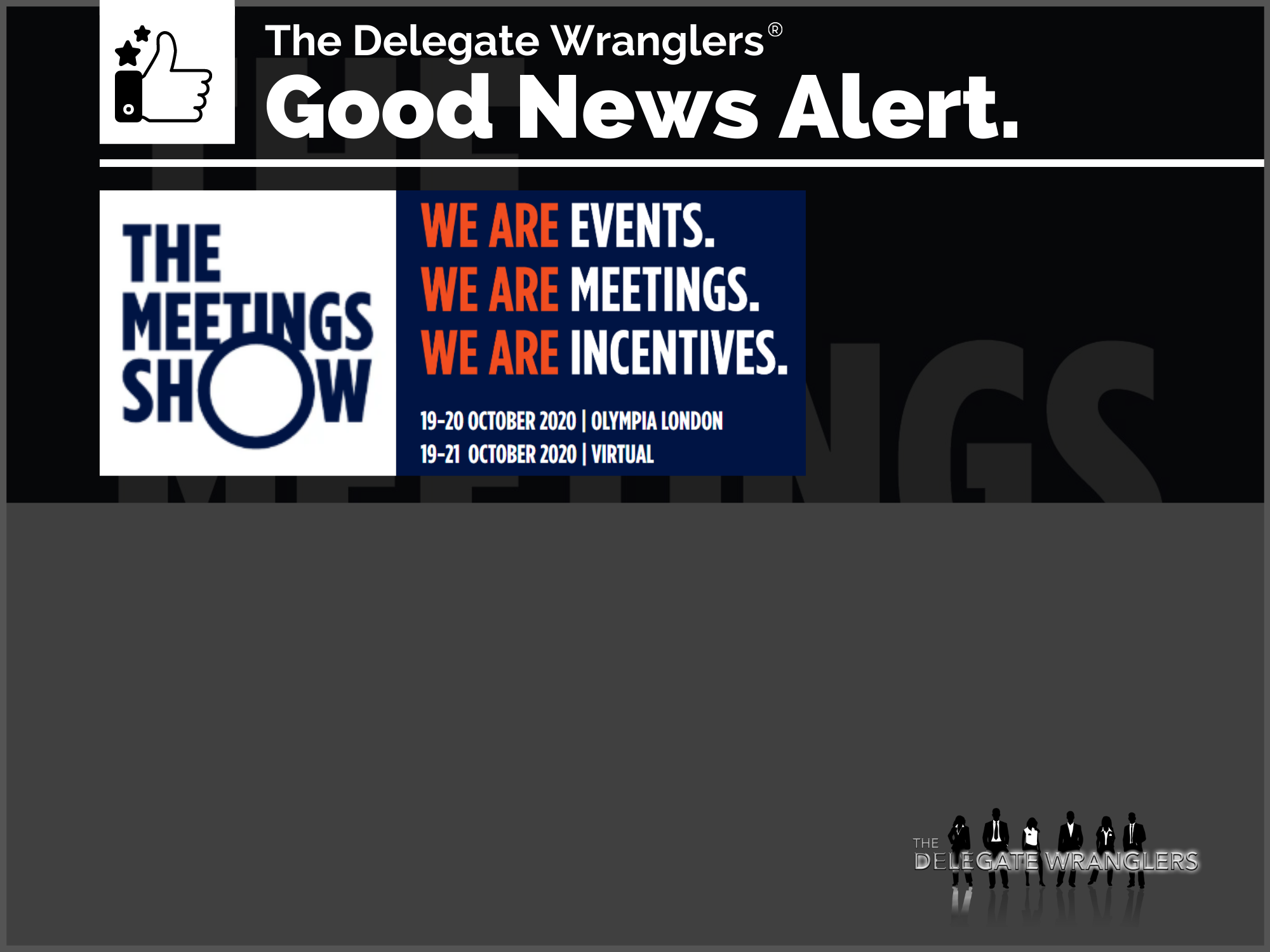 Registration opens for The Meetings Show