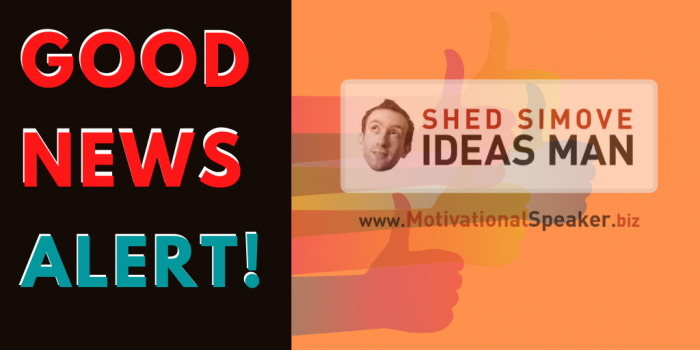 Good News Alert: Shed Simove Offers New Ideas to Engage Your Teams & Clients During Lockdown