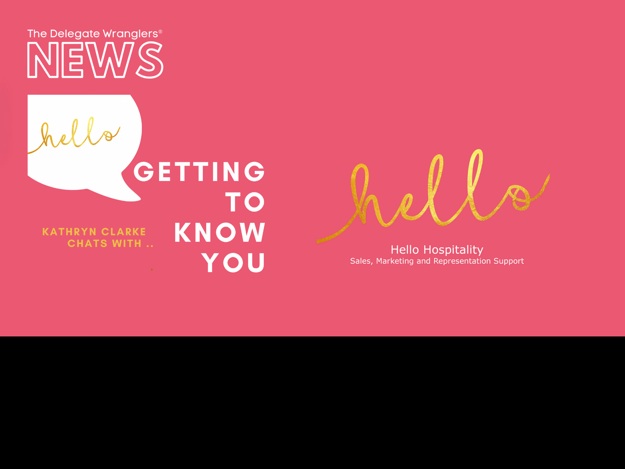 Hello Hospitality Launches New Podcast Series -  Getting to Know You!
