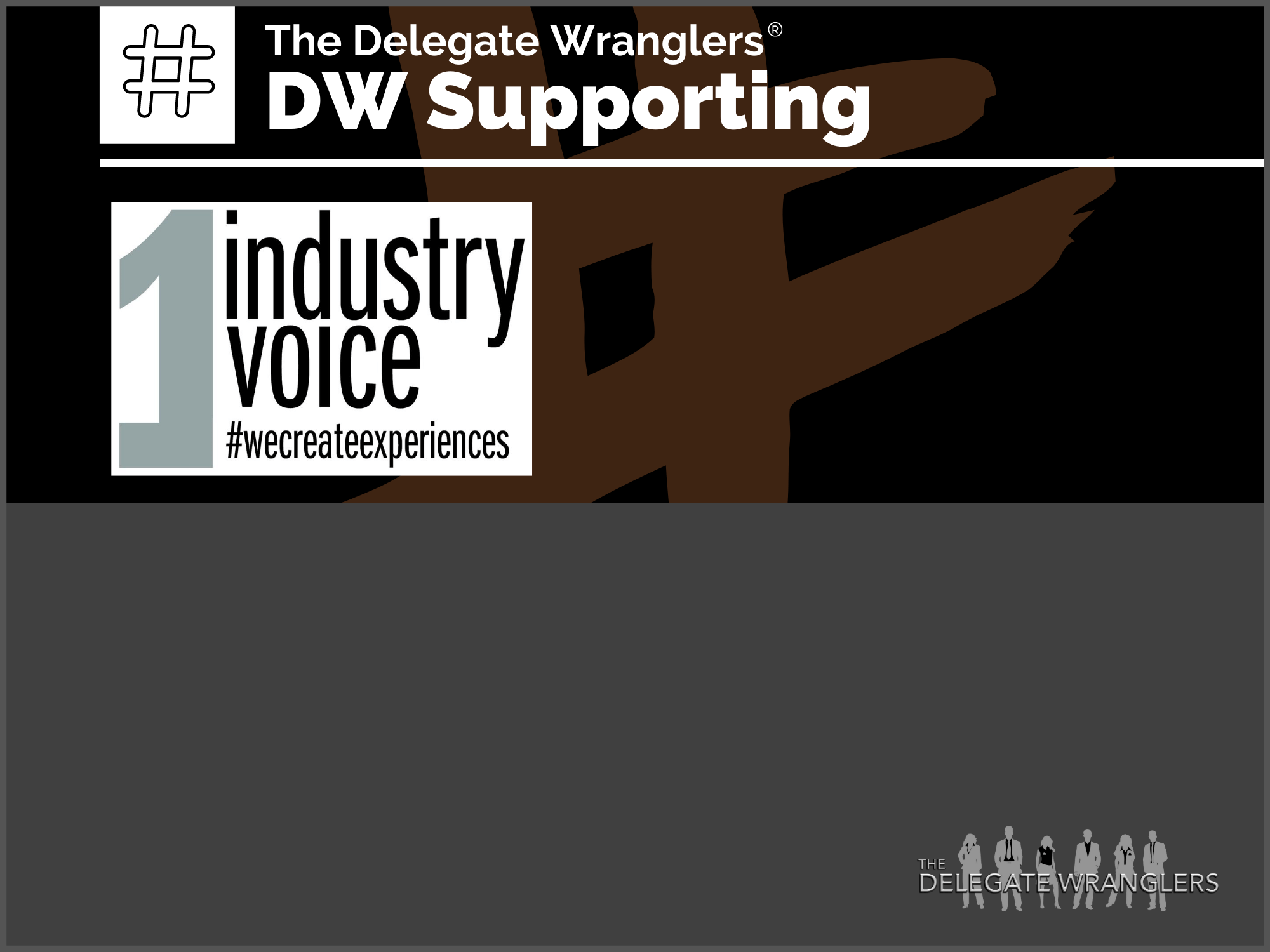 'One industry One Voice' campaign gathering momentum & needs your support