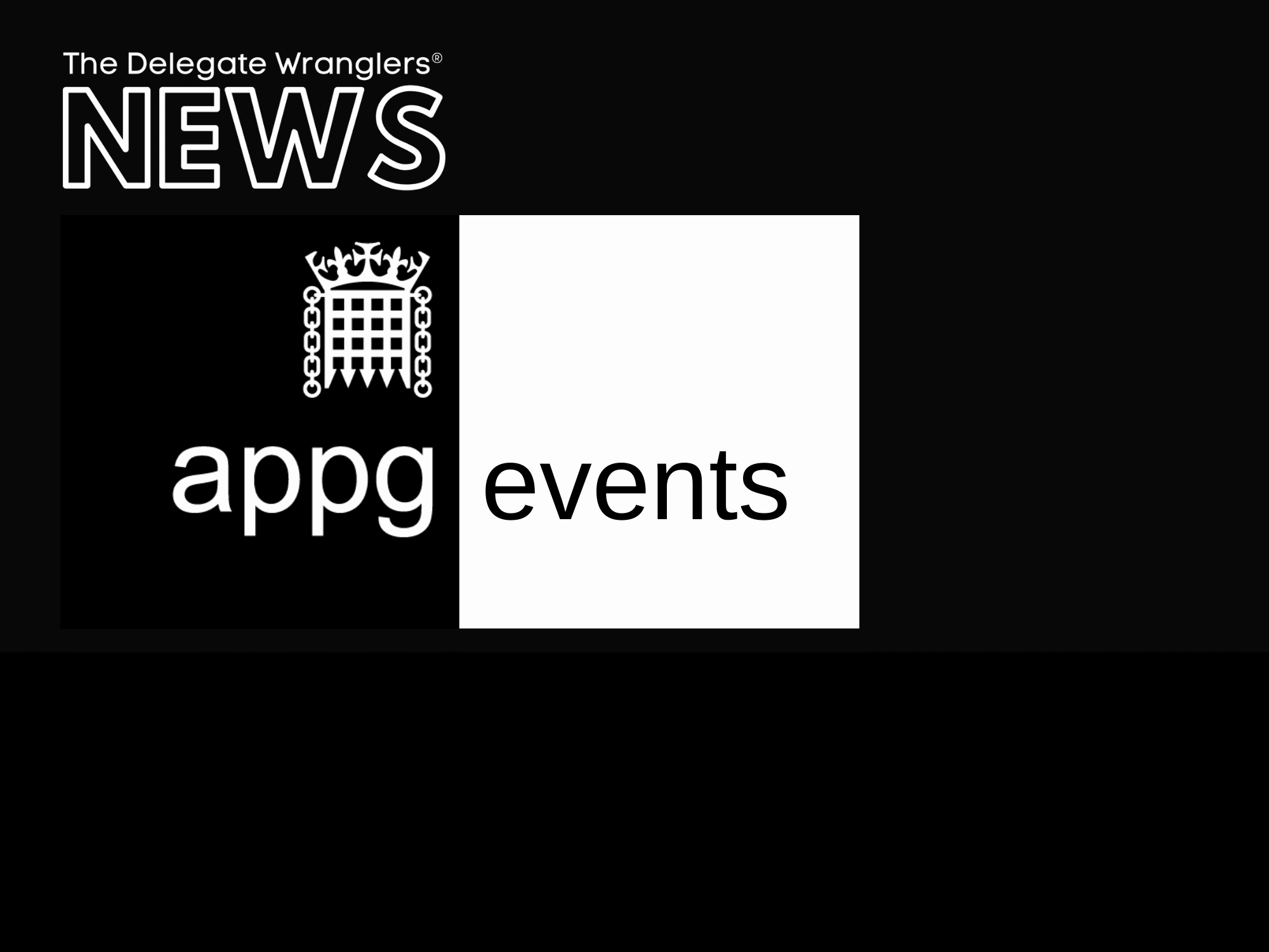 The All Party Parliamentary Group for Events (APPG) holds inaugural meeting