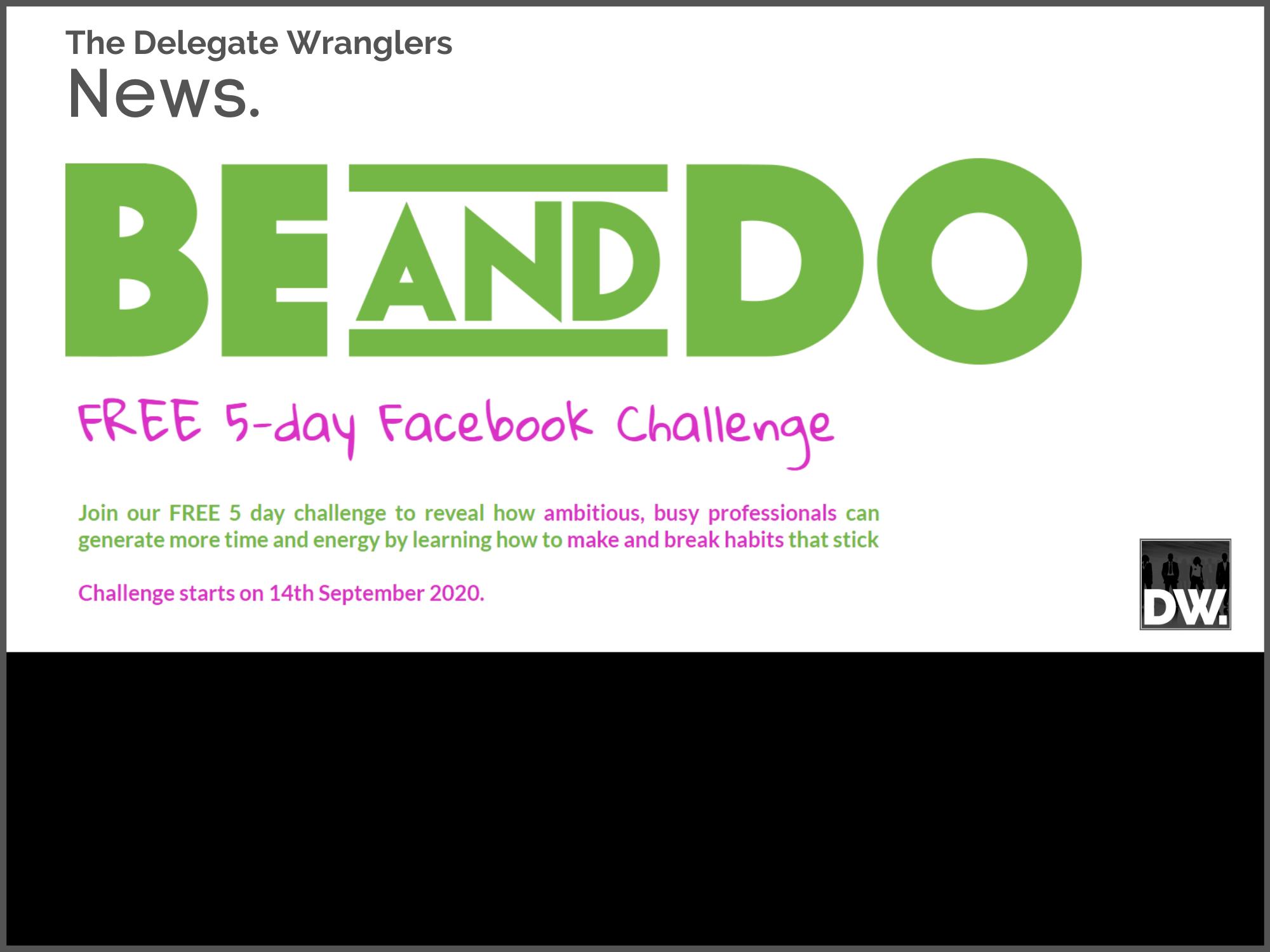 Last few days to register for the BE:DO Make or Break Challenge