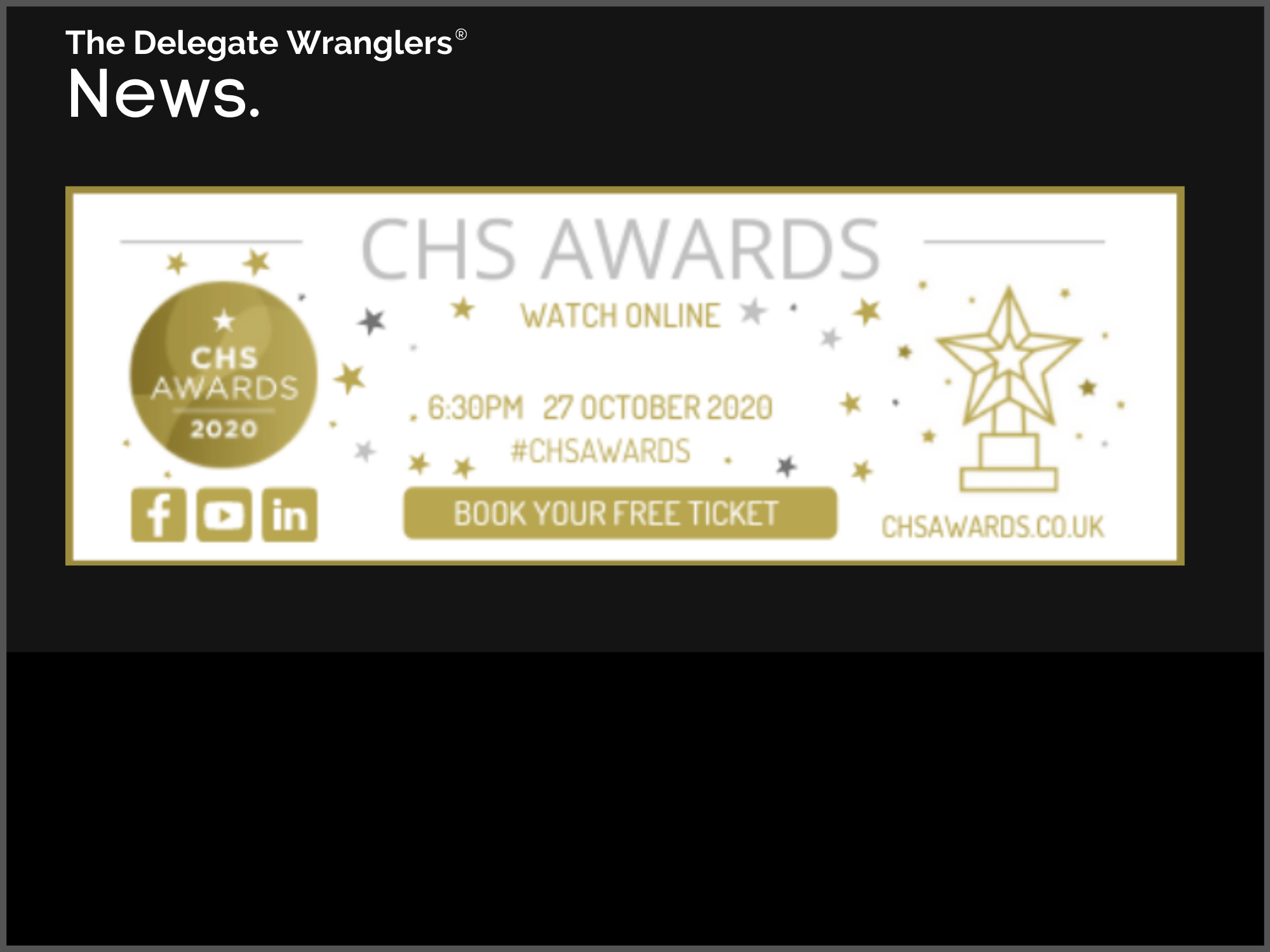 CHS Awards shortlist announced and it's going virtual