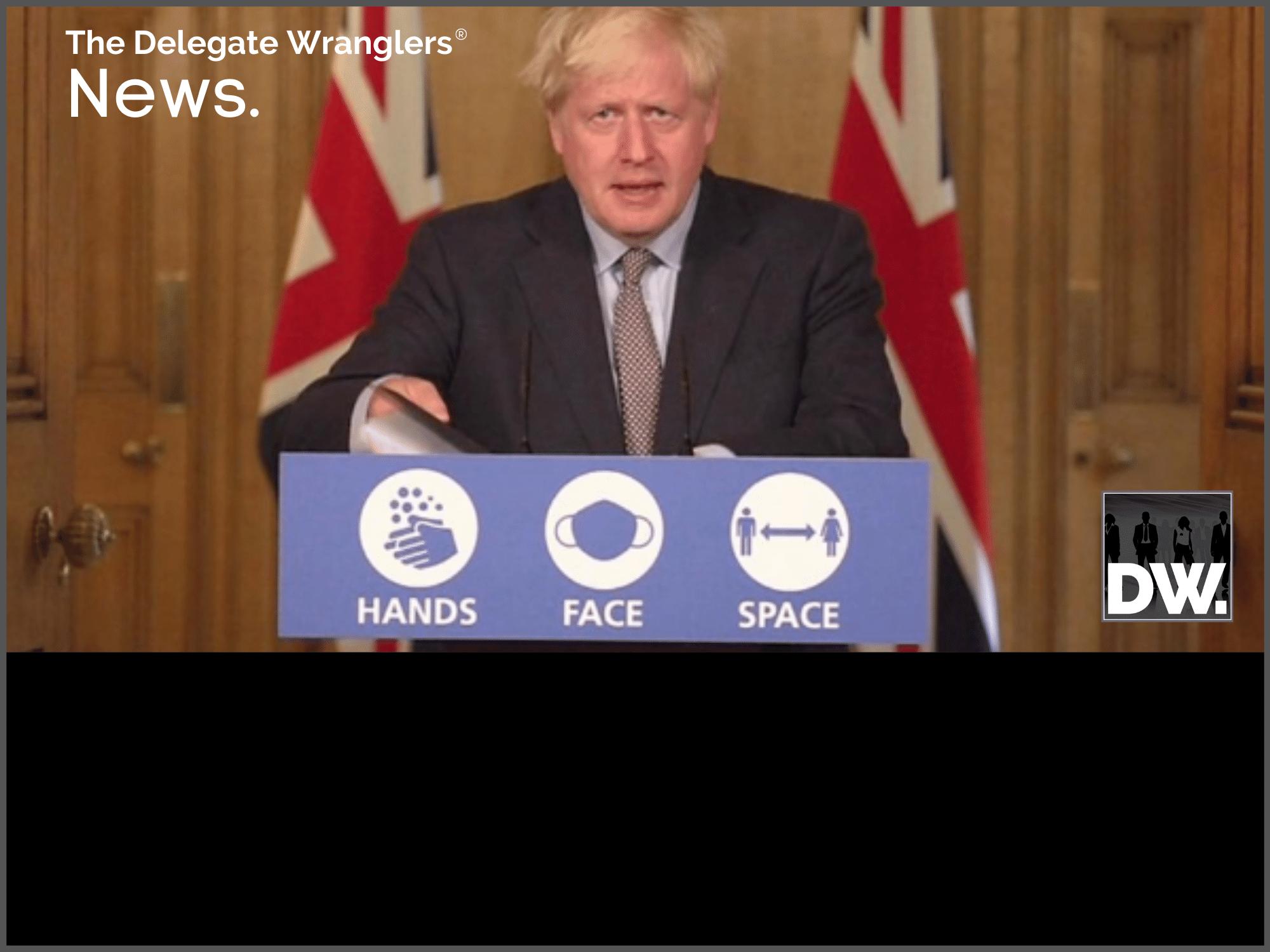 PM announces 'Rule of six'