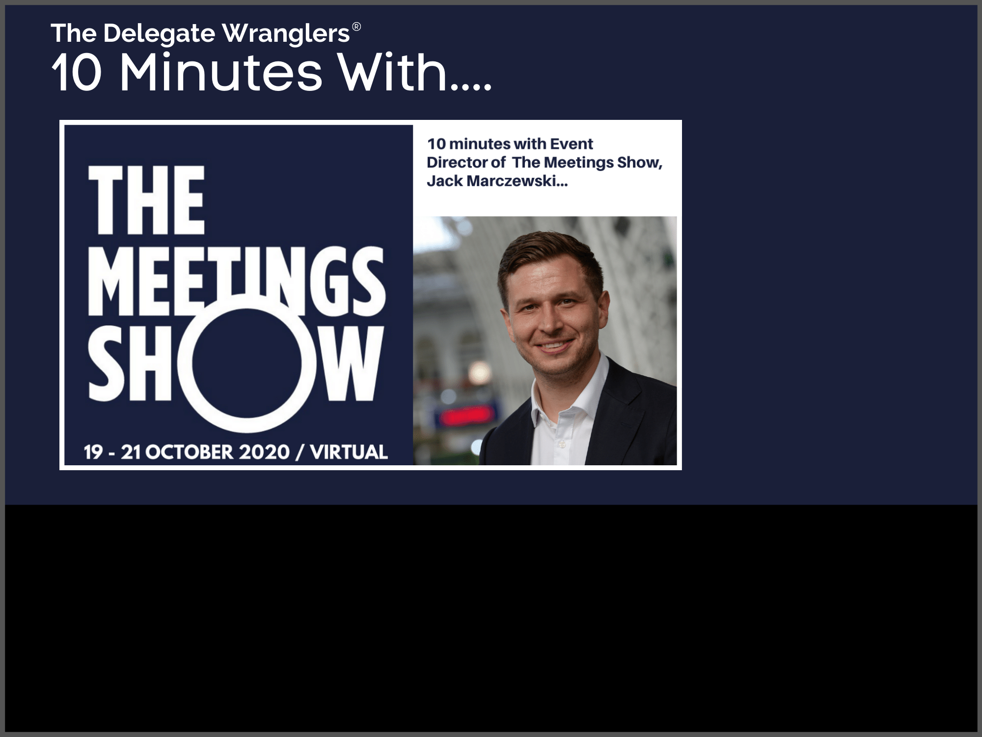 10 Minutes With....Jack Marczewski of The Meetings Show