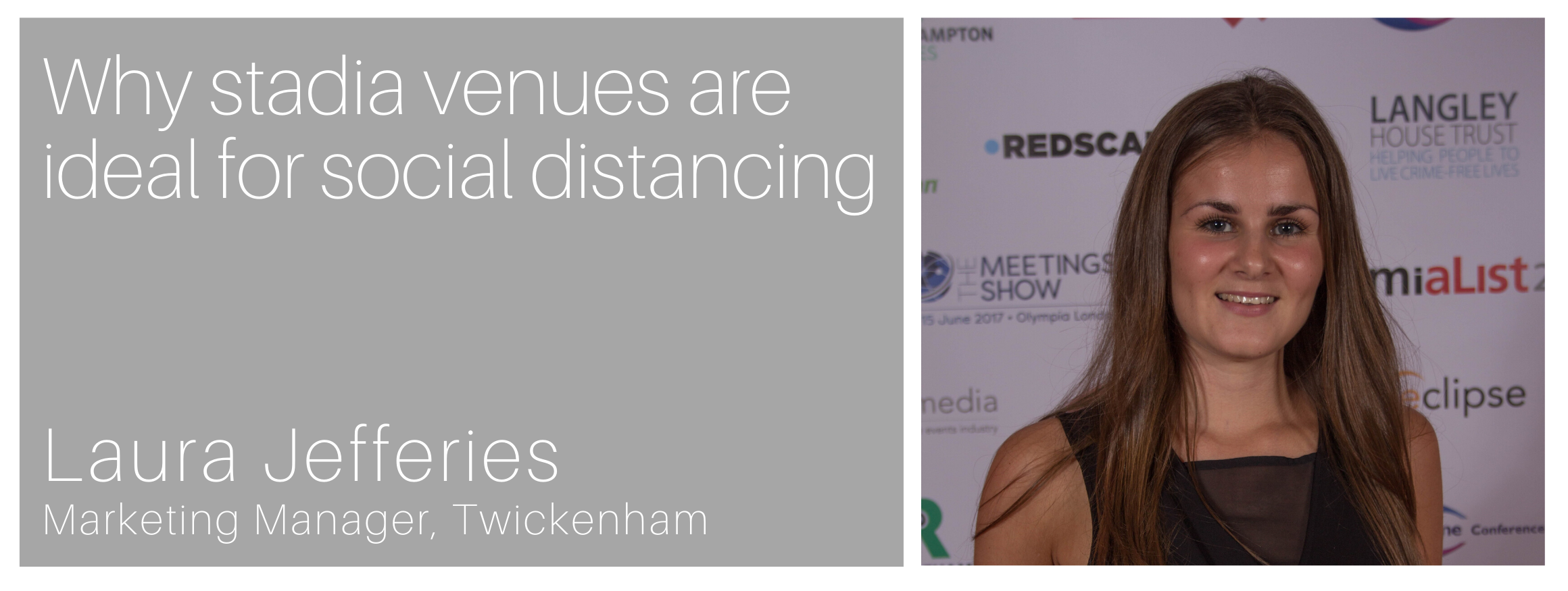 Why stadia venues are ideal for social distancing