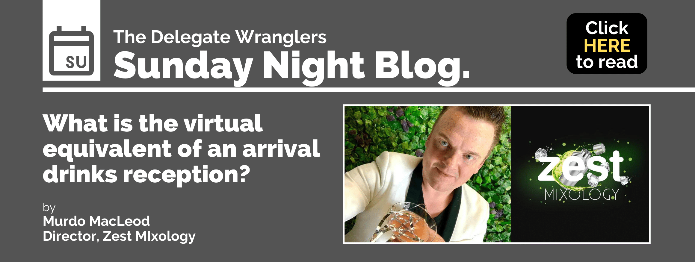 What Is The Virtual Equivalent of An Arrival Drinks Reception?