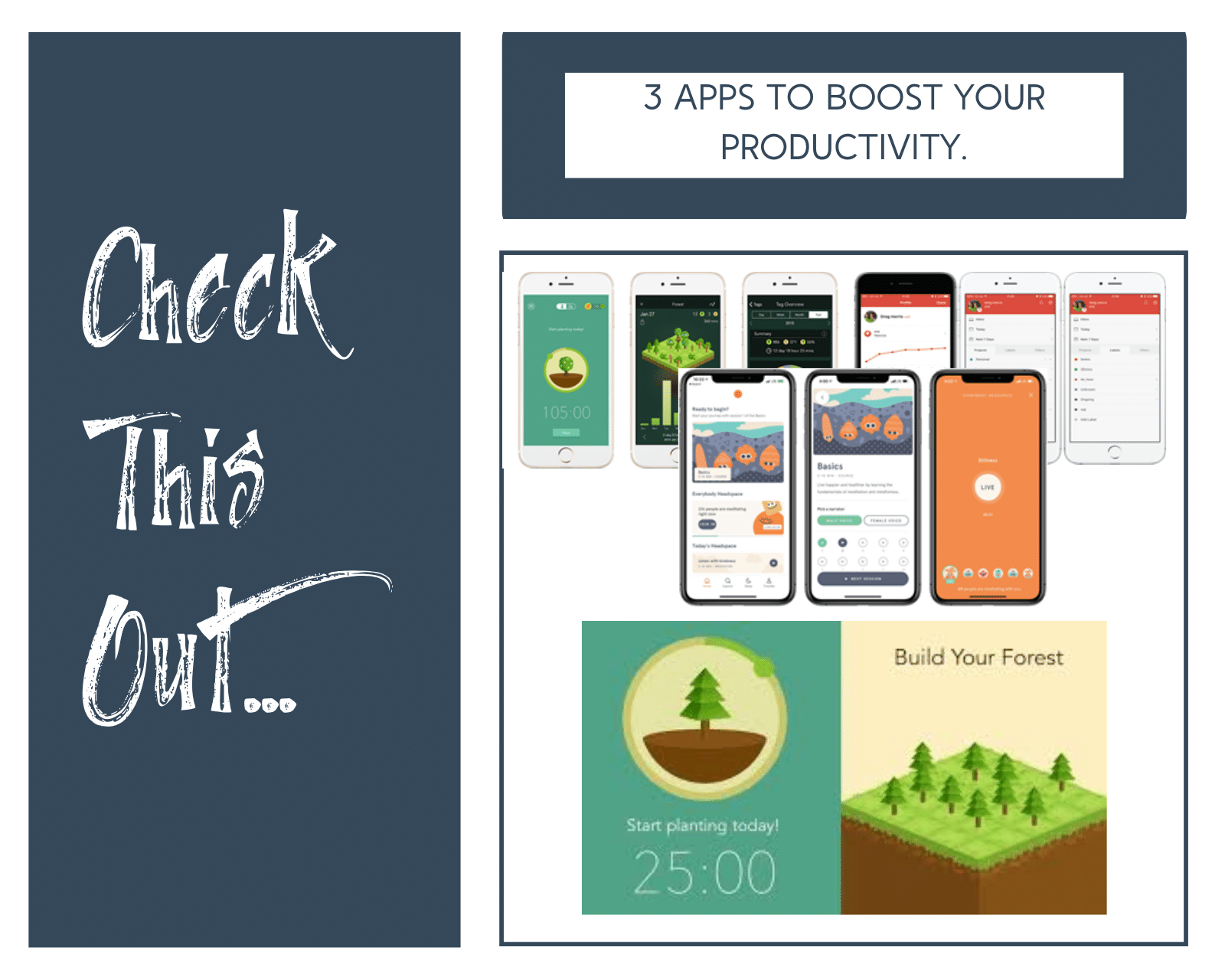3 Apps to Boost Your Productivity
