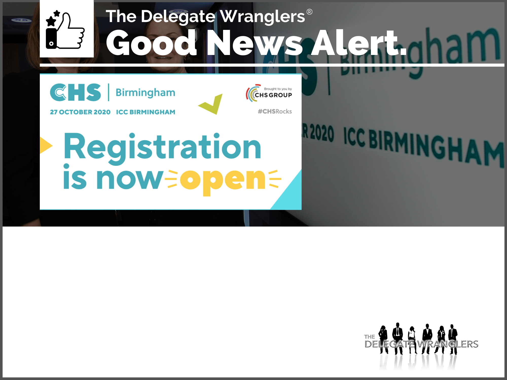 CHS Birmingham - Registration now OPEN!