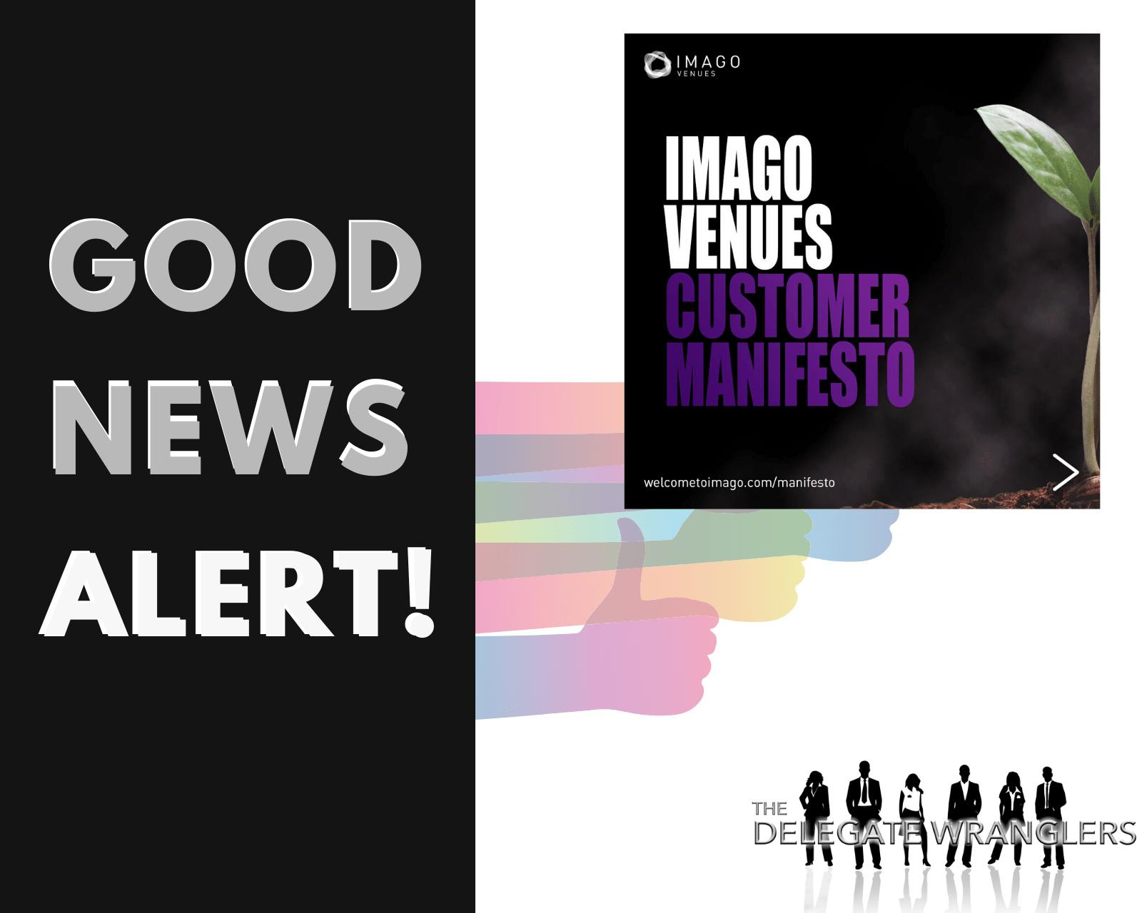 Imago Venues launch Customer Manifesto
