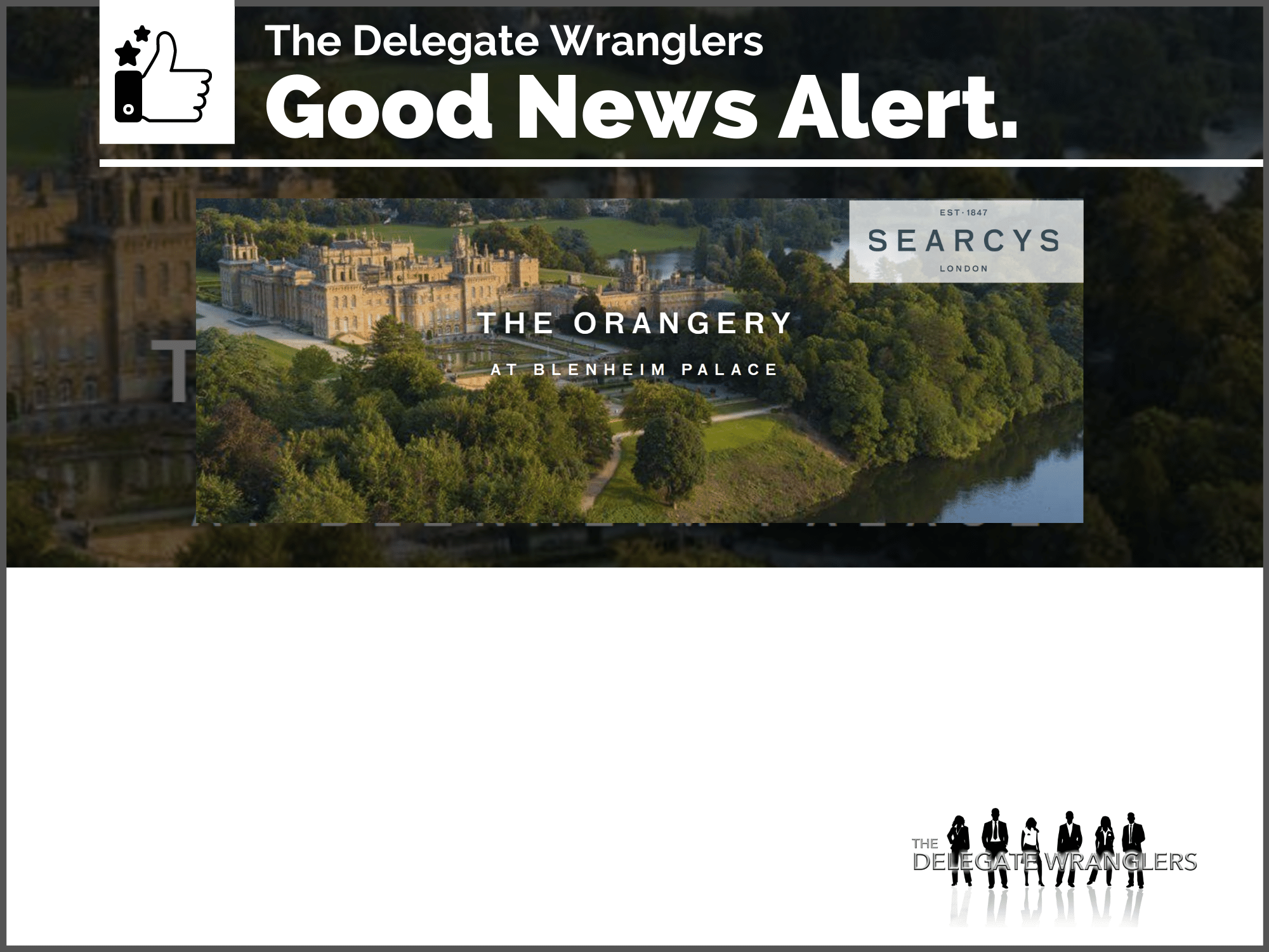 Searcys launches al fresco dining at Blenheim Palace from 4 July
