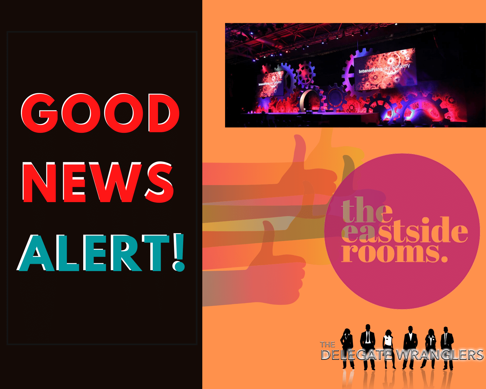 the eastside rooms to partner with On Event Production Co