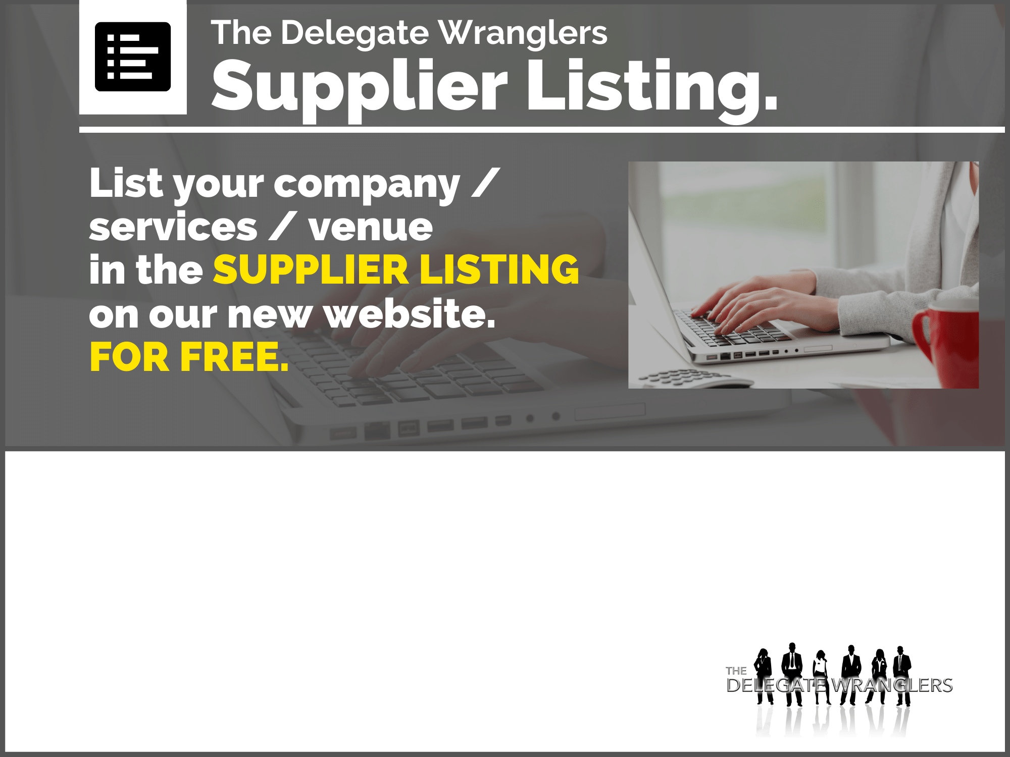 FREE supplier listings launched on new DW website