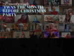 Hundreds party online together at Delegate Wranglers Christmas Party
