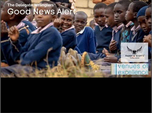 Venues of Excellence partners with Paddy and Scott's to support Ruiga Primary School in Kenya