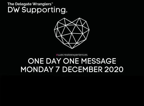 One Day One Message - today is the day - we need your help