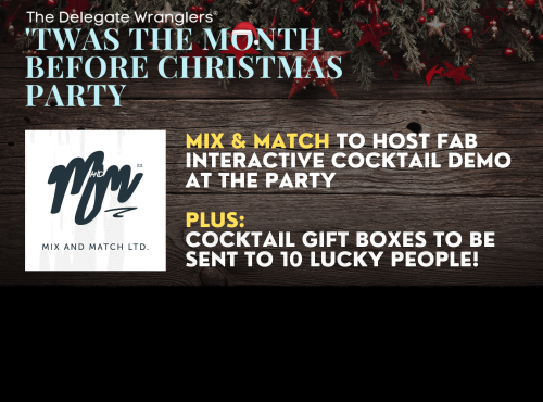 Mix & Match to send cocktail gift box to 10 lucky DW Christmas party attendees