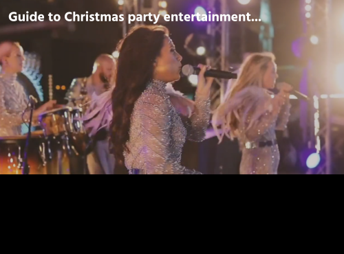 Guide to Christmas party entertainment