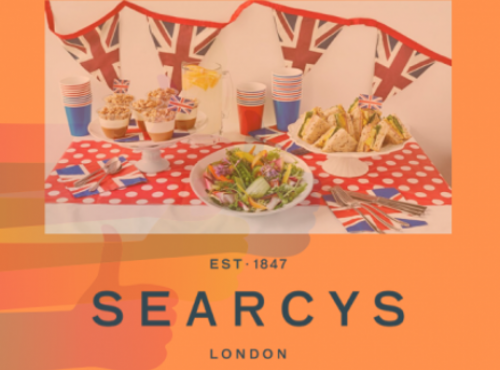 Searcys shows the way to celebrate the 75th anniversary of VE Day at home with some amazing receipes